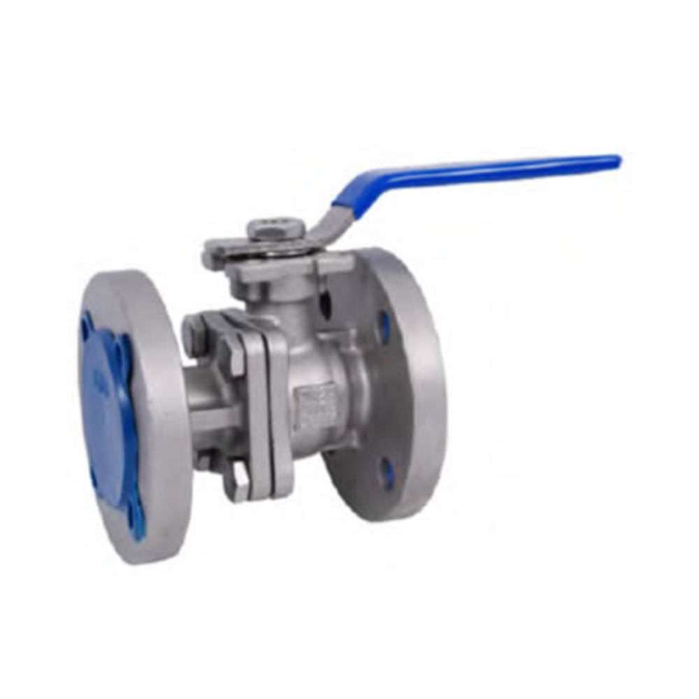 STAINLESS QUALITY FULL PORT PN16 FLANGED 2- PC HIGH PAD BALL VALVE 1000 PSI (304 / 316)