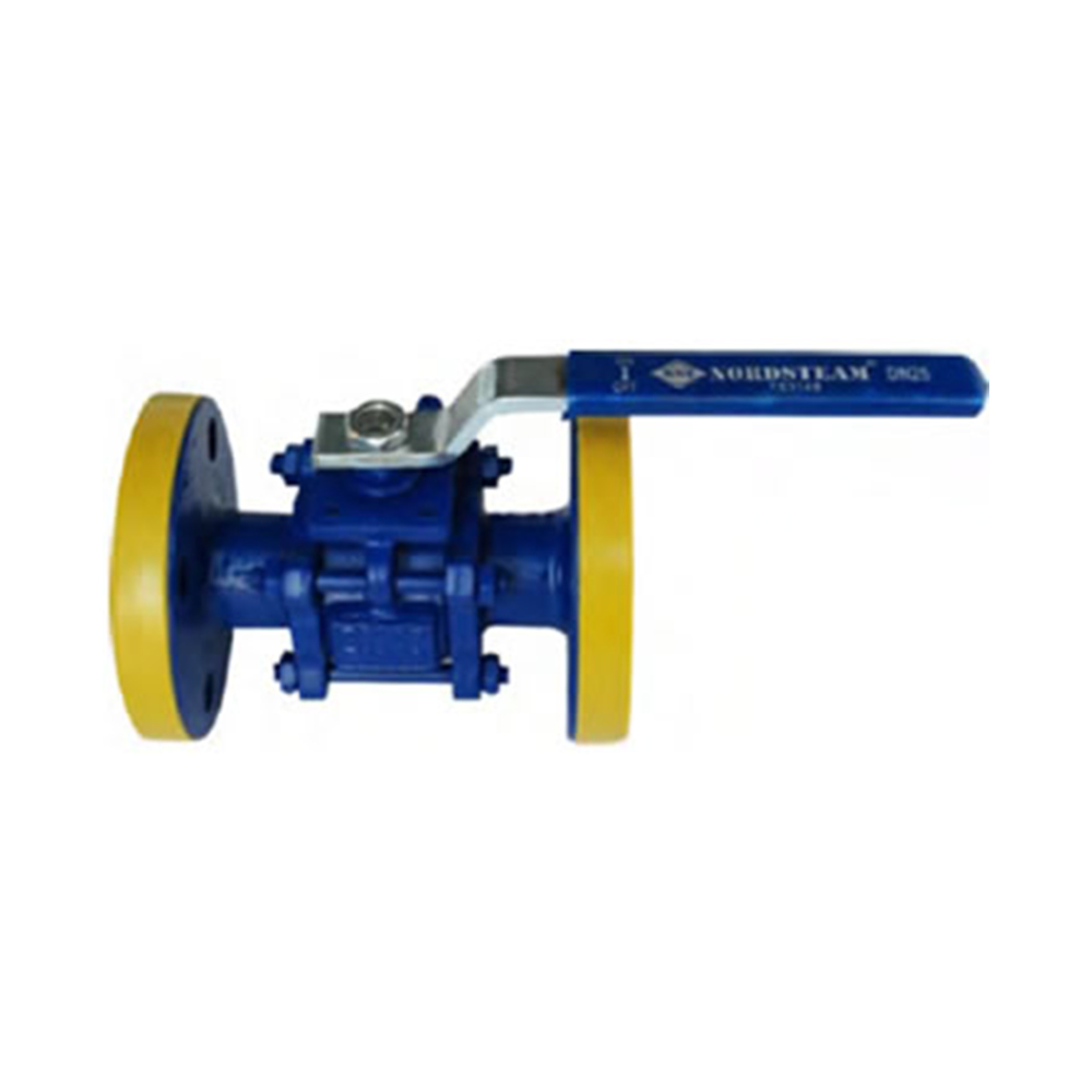 3-PC FULL PORT BALL VALVE