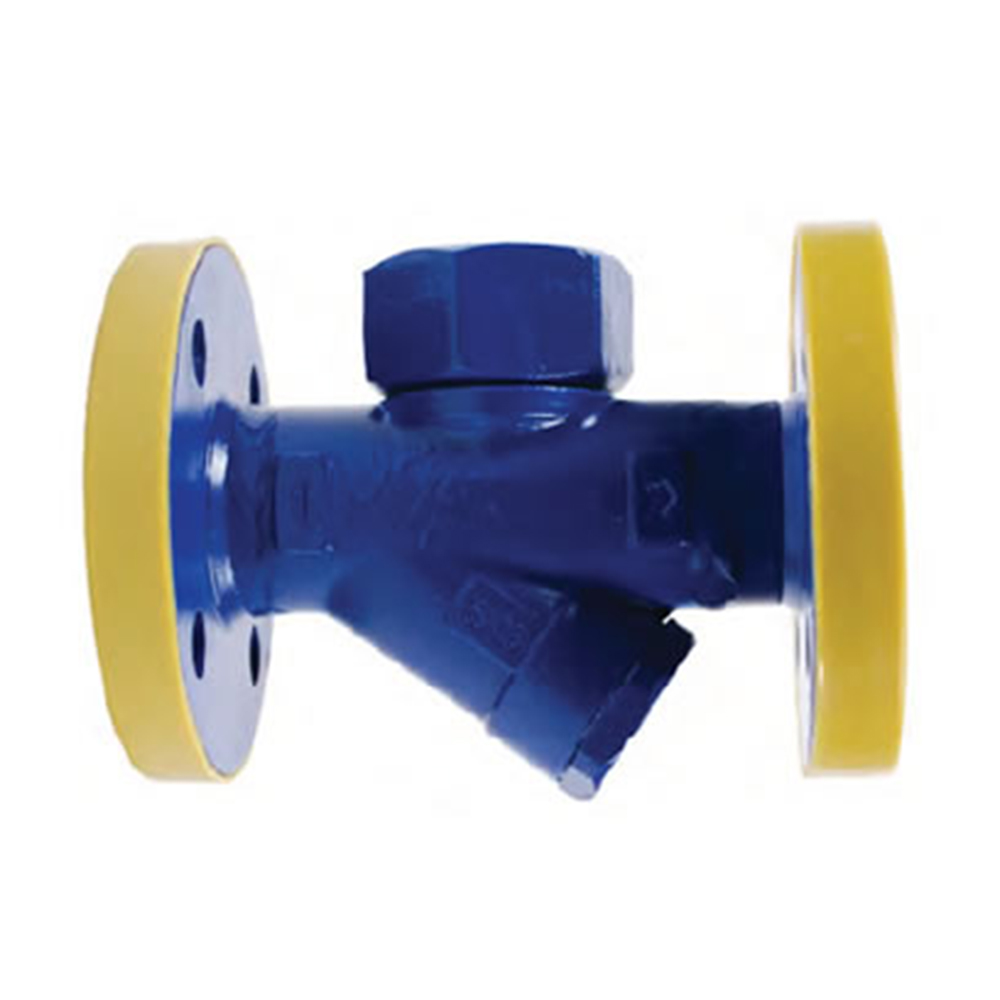 THERMODYNAMIC STEAM TRAP WITH STRAINER