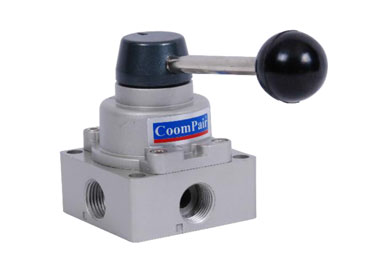 MODEL P-4HV1 PNEUMATIC 4/3 HAND-SWITCH VALVE