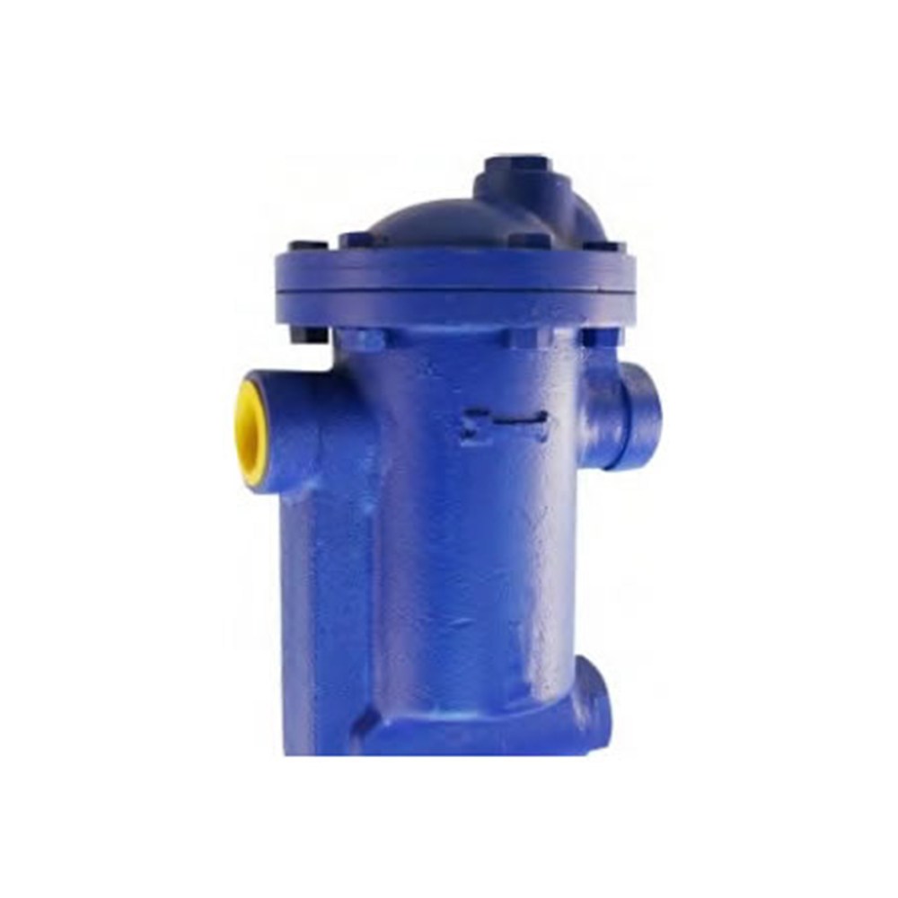 INVERTED BUCKET STEAM TRAP WITH STRAINER