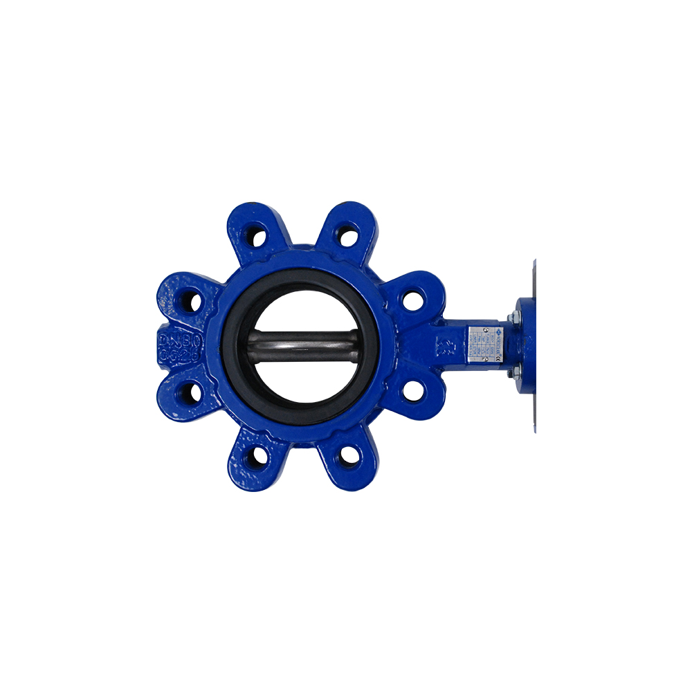 LUG TYPE BUTTERFLY VALVES WITH PNEUMATIC ACTUATOR