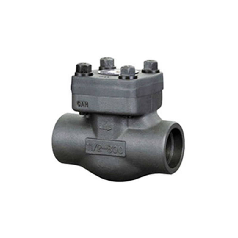 FORGED STEEL THREADED SWING CHECK VALVE