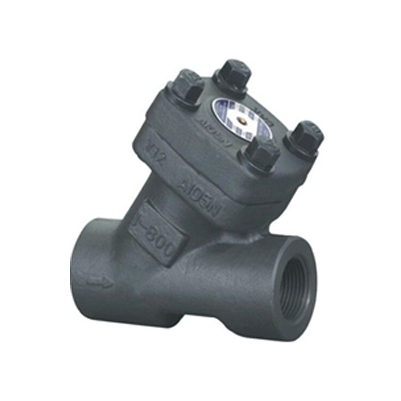 FORGED STEEL THREADED STRAINER VALVE