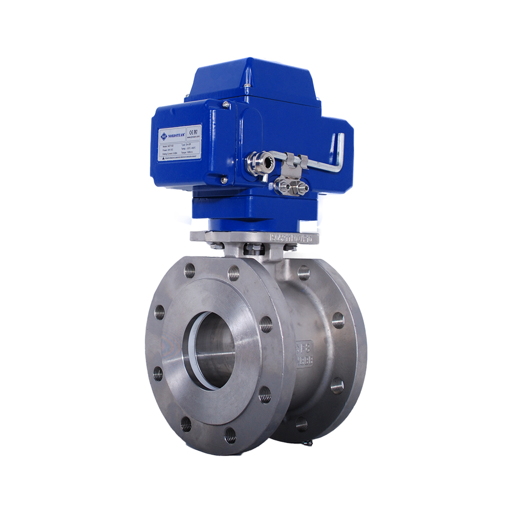 MONOBLOCK BALL VALVES WITH ELECTRIC ACTUATORS