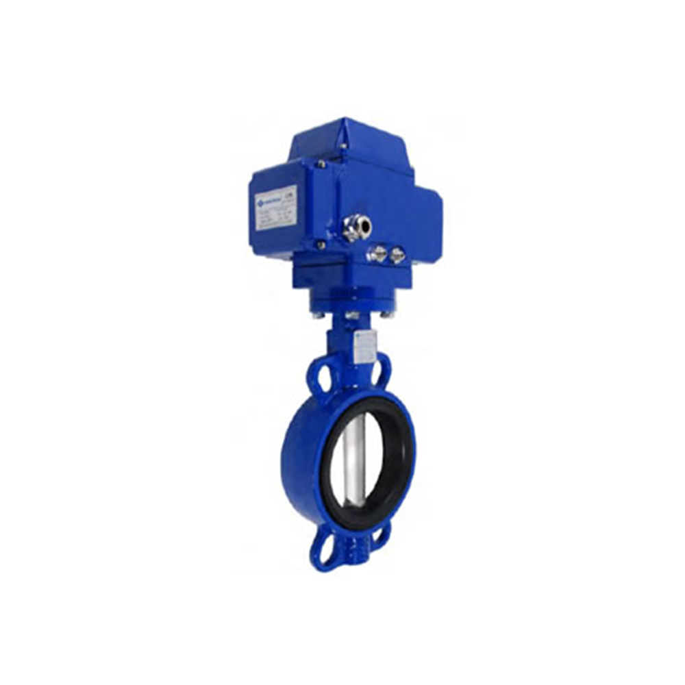 BUTTERFLY VALVES WITH ELECTRIC ACTUATOR