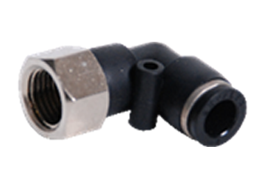 ELBOW PUSH IN MANIFOLD FEMALE FITTING ROTARY