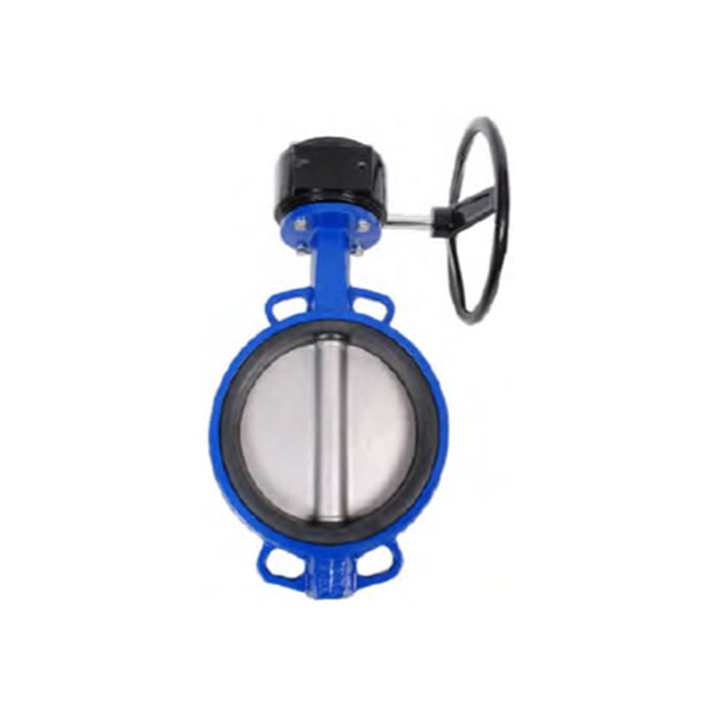 WAFER TYPE BUTTERFLY VALVES WITH GEAR BOX