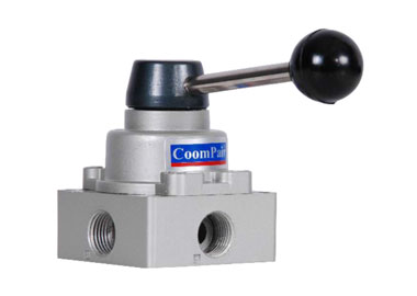 MODEL P-HV PNEUMATIC 4/3 HAND-SWITCH VALVE