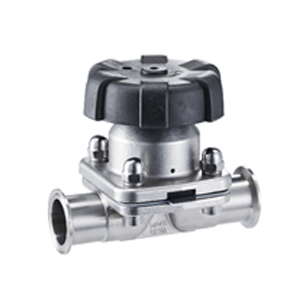 CLAMPED DIAPHRAGM VALVE