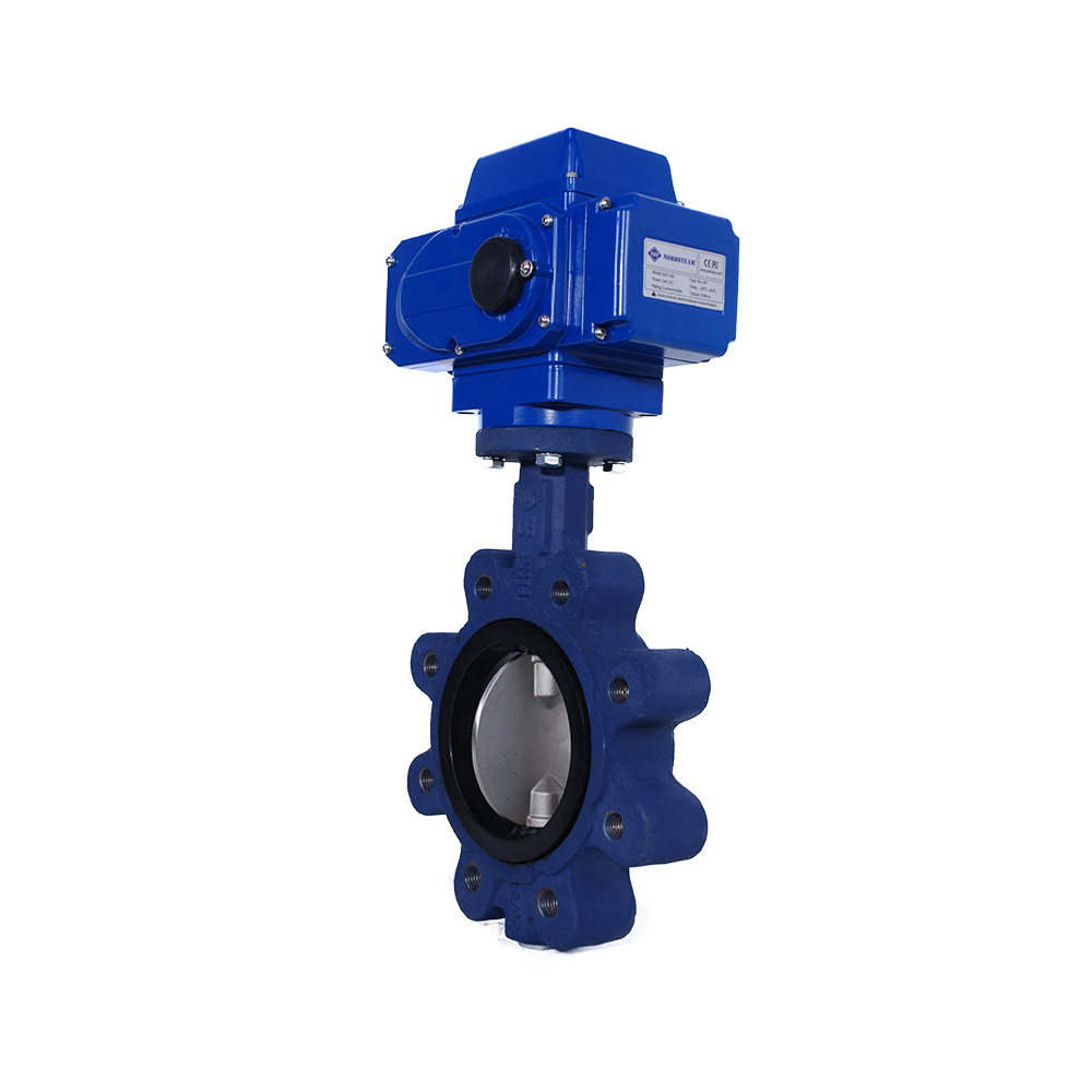 LUG TYPE BUTTERFLY VALVES WITH ELECTRİC ACTUATOR