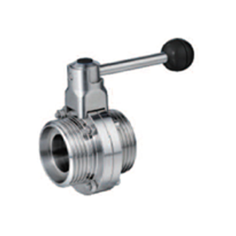 EXTERNAL THREADED BUTTERFLY VALVE