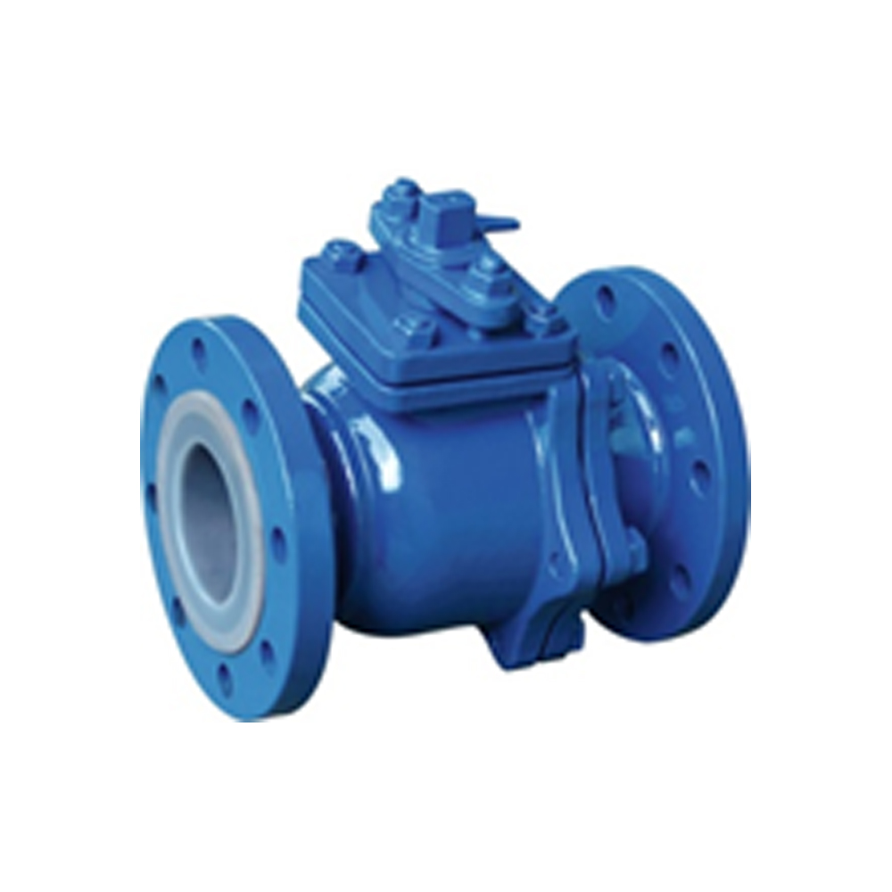 SILICON LINED BALL VALVE