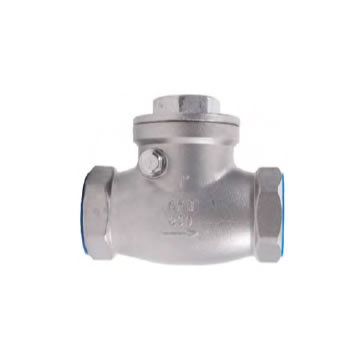 STAINLESS THREADED SWING CHECK VALVE (316)