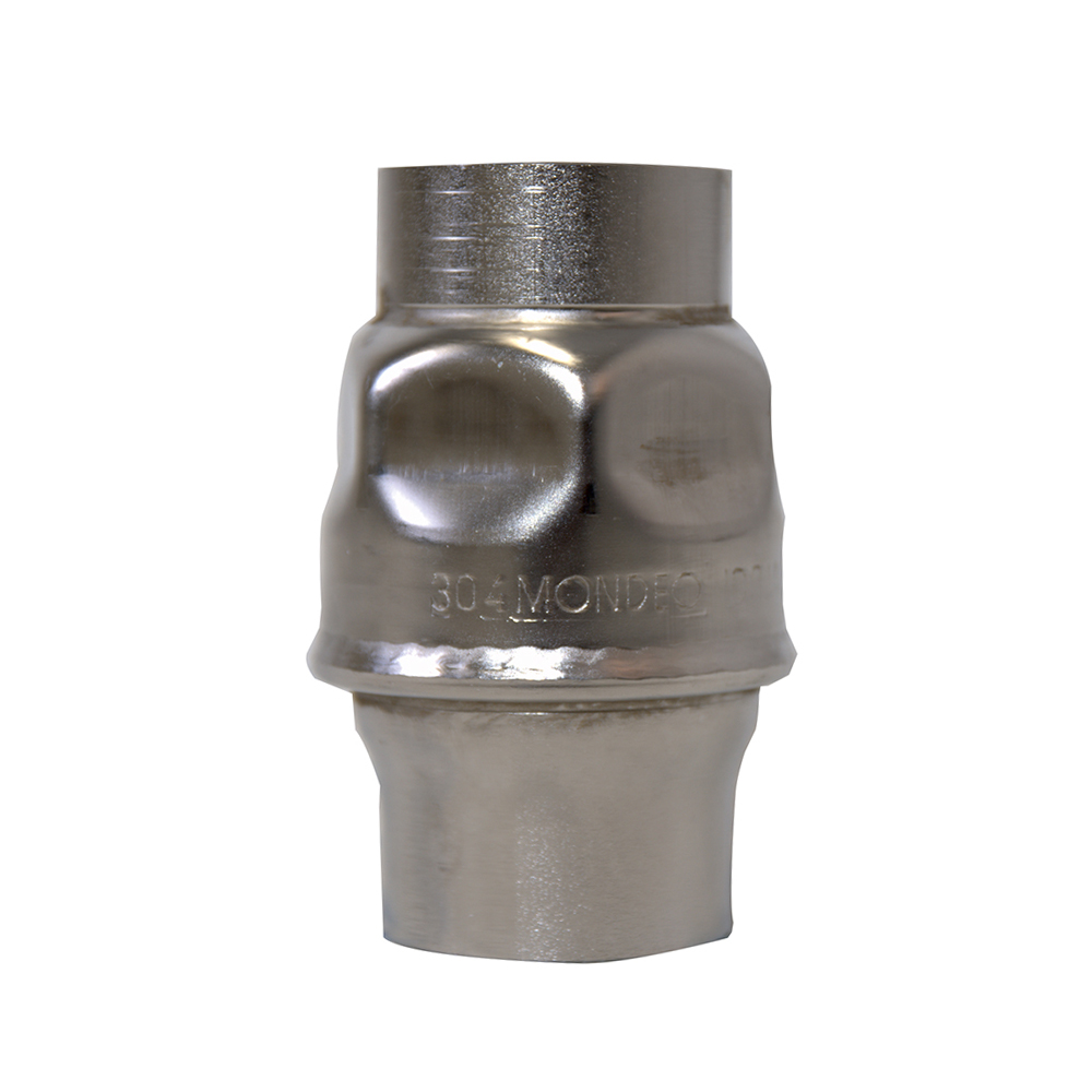 STAINLESS TUBE TYPE CHECK VALVE