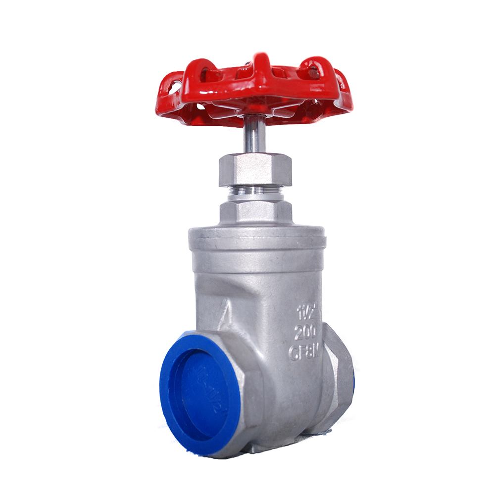 STAINLESS STEEL FULL PORT THREADED GATE VALVE (316)