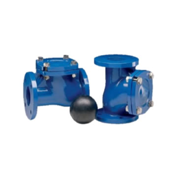 CHECK VALVES WITH BALL