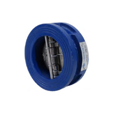 DOUBLE FLAP CHECK VALVE