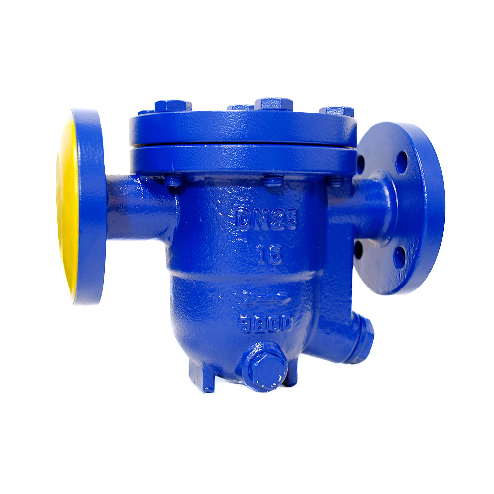 FREE FLOAT STEAM TRAP WITH THERMOSTATIC AIR VENT