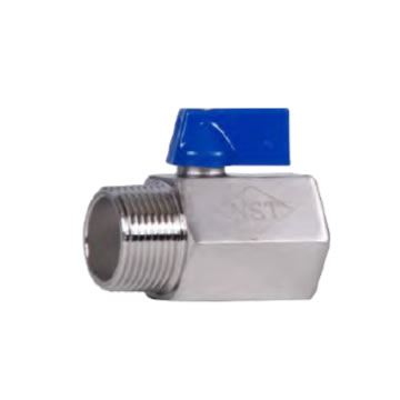 SS MINI VALVE MALE THREADED