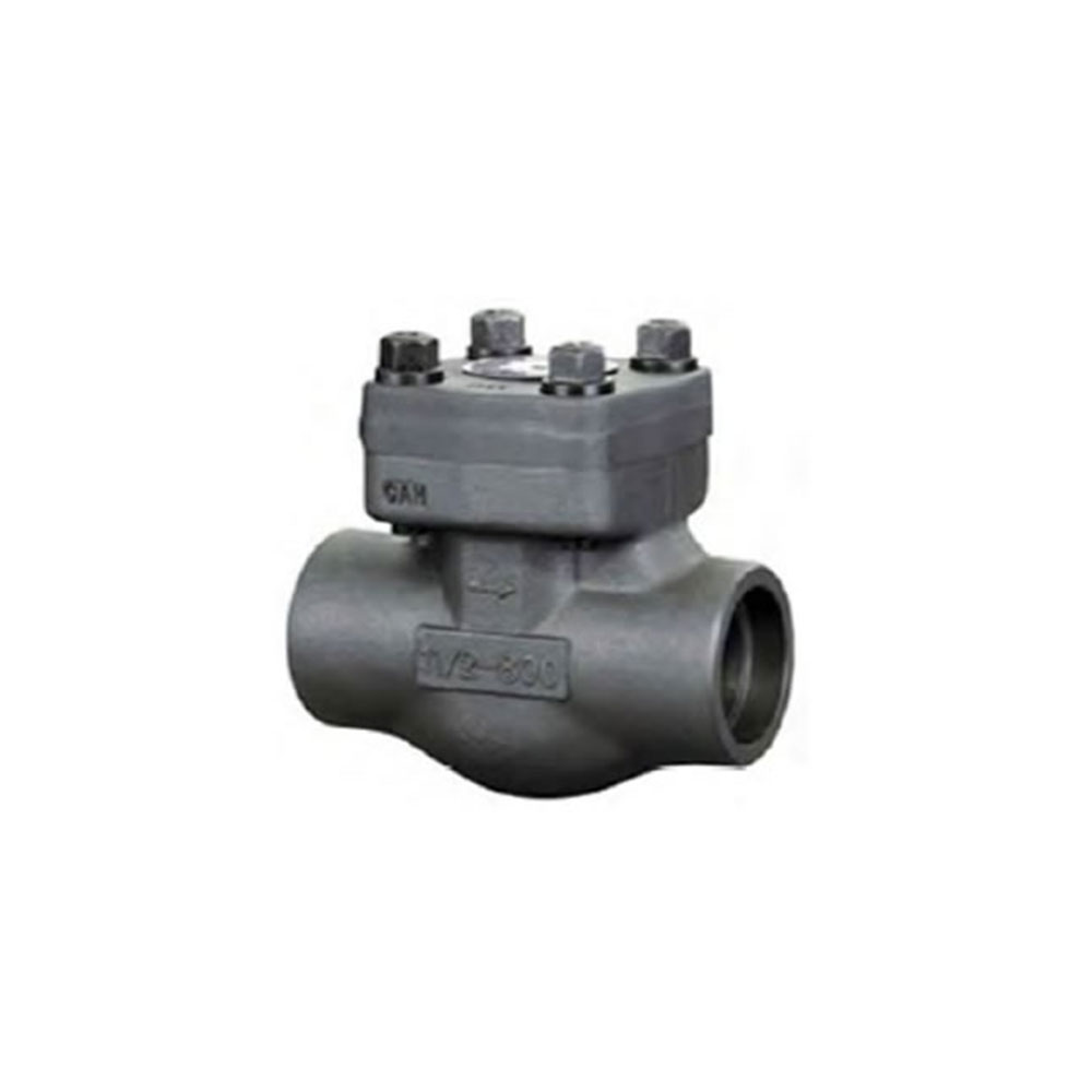 FORGED STEEL THREADED CHECK VALVE