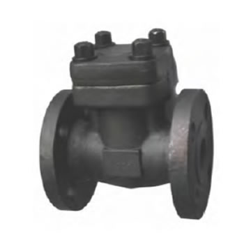 FORGED STEEL FLANGED SWING CHECK VALVE