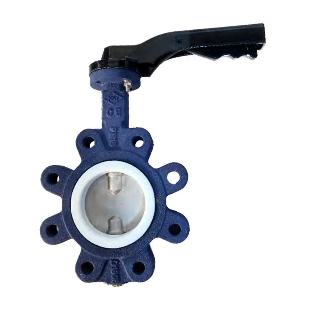 PTFE GASKET LUG TYPE BUTTERFLY VALVES
