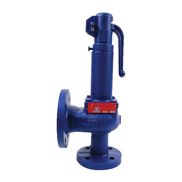 PROPORTIONAL LIFT SAFETY VALVE WITH SPRING