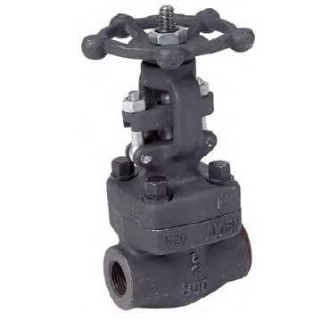 FORGED STEEL THREADED GATE VALVE