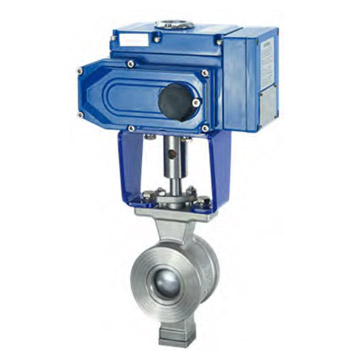 WAFER ELECTRIC SEGMENT BALL VALVE