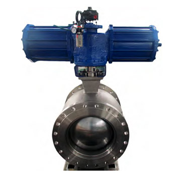 PNEUMATIC V PORT BALL VALVE