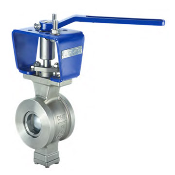 WAFER HANDLE SEGMENT BALL VALVE
