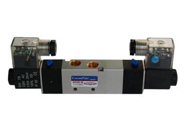 MODEL P-4V230 - 5/2- 5/3 SELENOID VALVE P-4V SERIES