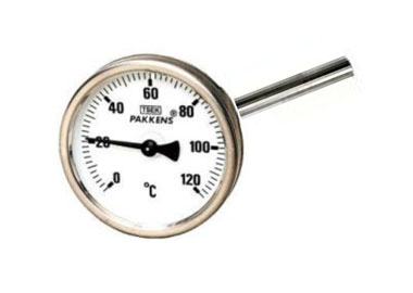Ø100 / 160 MM. DIRECT CONNECTION THERMOMETERS WITH QUICK SILVER FILLING