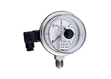 Ø100 MM. STAINLESS TYPE ELECTRICAL CONTACT PRESSURE GAUGES