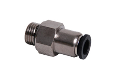 PUSH IN STRAIGHT CHECK VALVE FITTING MALE THREAD