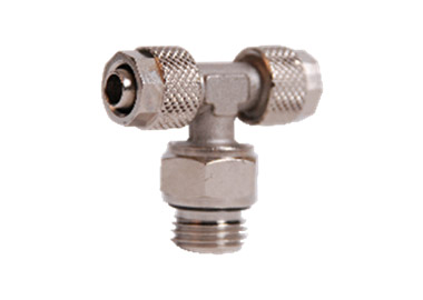 T SHAPE FAST FITTINGS ROTARY MALE THREAD