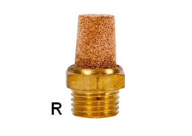 MODEL PUCS SINTERED BRONZE SILINCER CONIC TYPE
