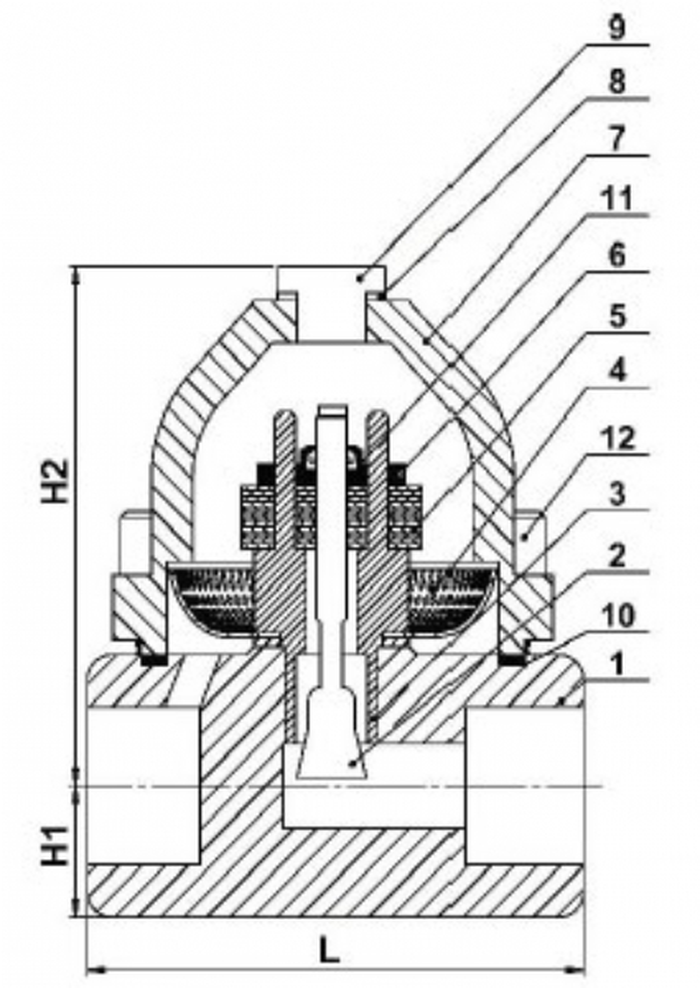 BI-METAL STEAM TRAP